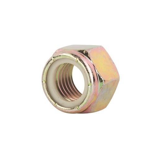 Grade 8 Nylon-Insert Hex Locknuts Pack of 10 3//4-10