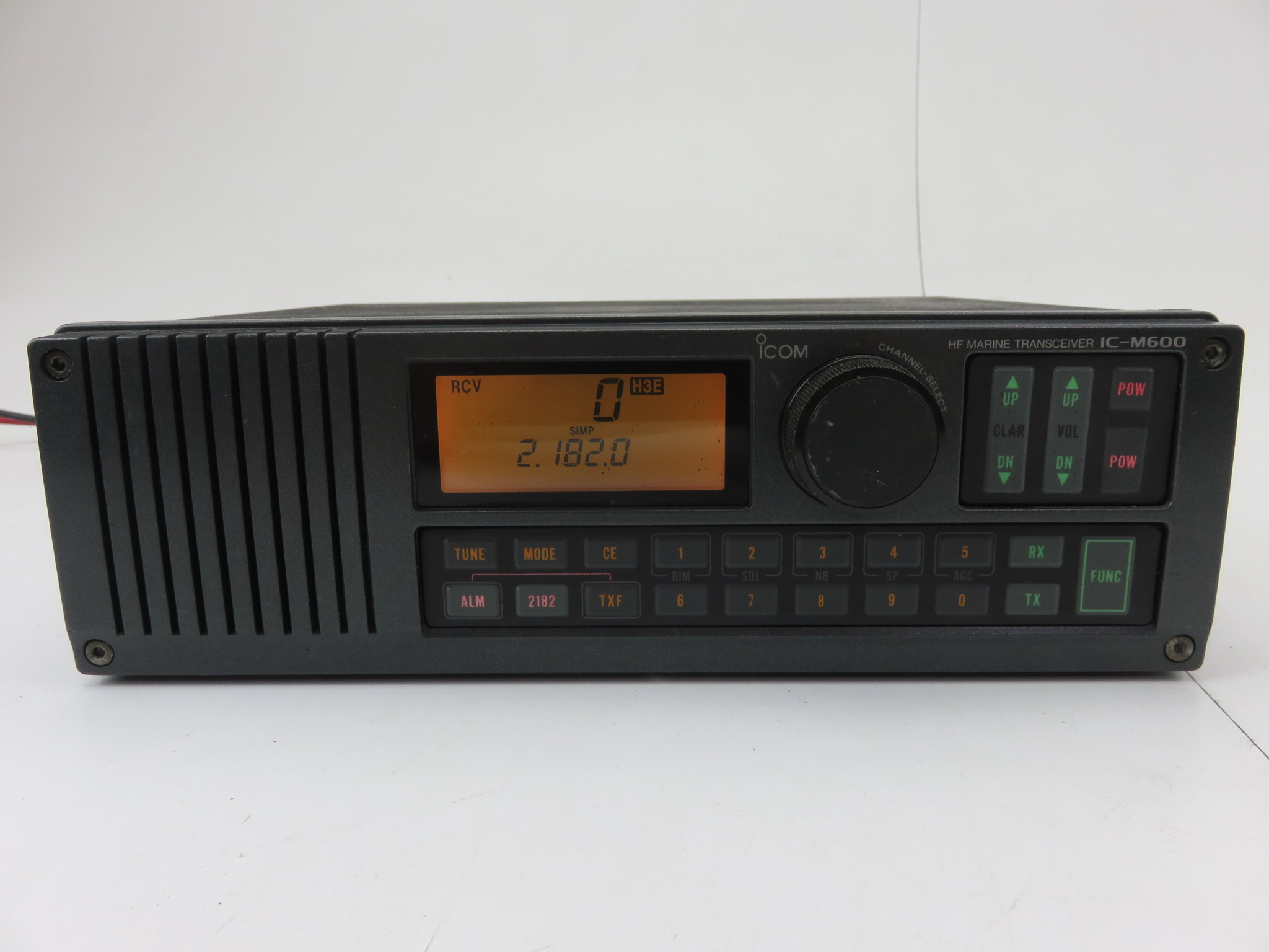 Icom Ic M600 Boat Marine Ssb Ham Radio Hf Professional Marine Transceiver Ebay