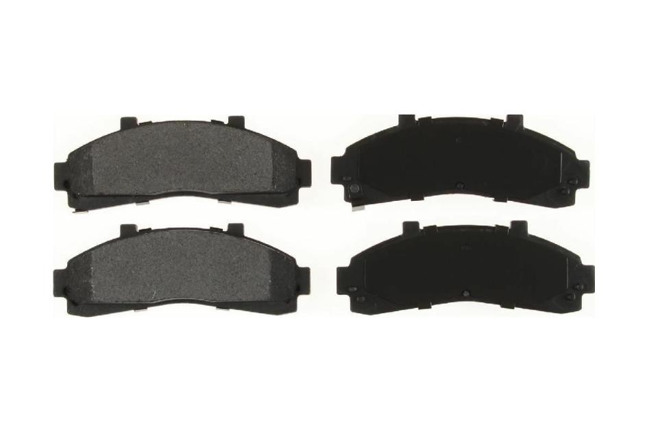 1999 2000 2001 2002 For Mazda B4000 Front Semi Metallic Brake Pads